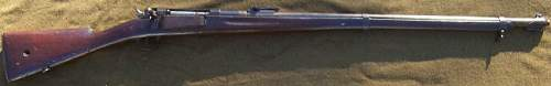 Danish Krag Rifle and Bayonet