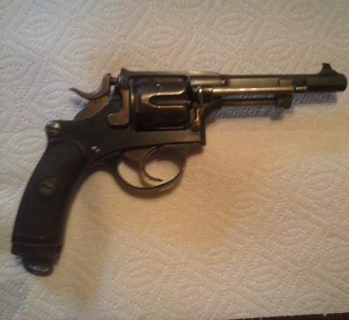 Swedish M87 revolver question