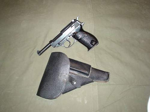 1944 Walther P38 rig