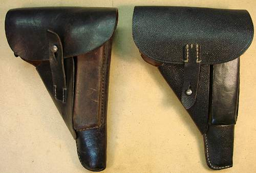 Click image for larger version.  Name:256 kbs 1943 and 1944 P38 soft shell holsters 017.jpg Views:3341 Size:94.8 KB ID:66588