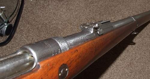 Gew 88 rifle. A bit rough maybe - but still nice.
