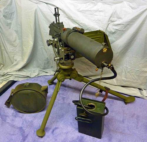 water cooled machine guns