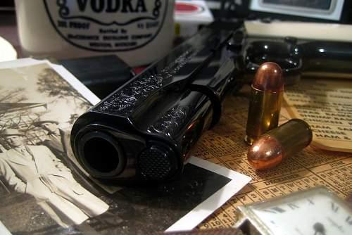 Colt .45 Auto Presentation Grade O1918 Reproduction