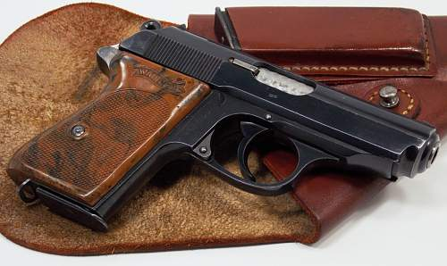 RSHA Walther PP and an early PPK rig...