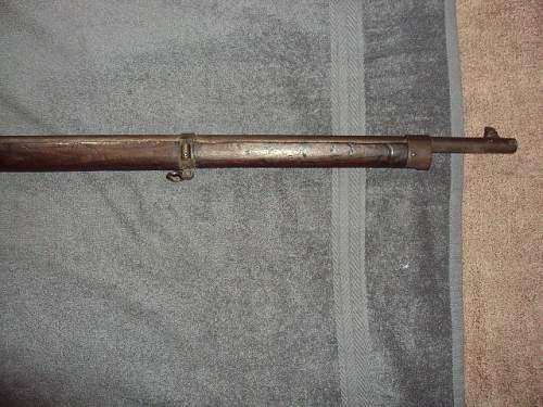 Austrian mannlicher rifle