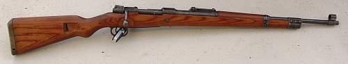 Late war byf 44 Kriegsmodell K98...