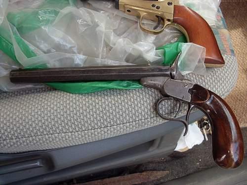 Click image for larger version.  Name:old Belgium pistol 001.jpg Views:156 Size:92.5 KB ID:678685
