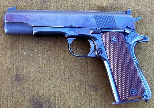 Colt 45 Auto with .22 Colt Conversion Unit