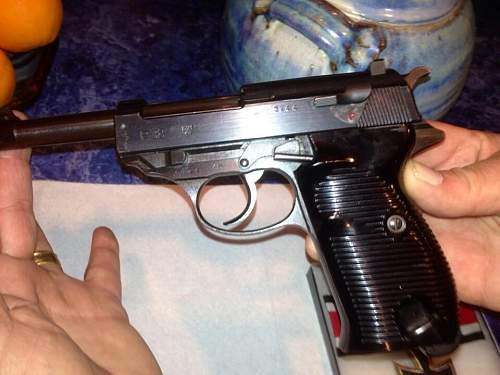 Walther's PP, PPK & P38