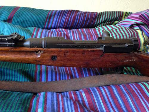 My great uncle's bring back Type 99