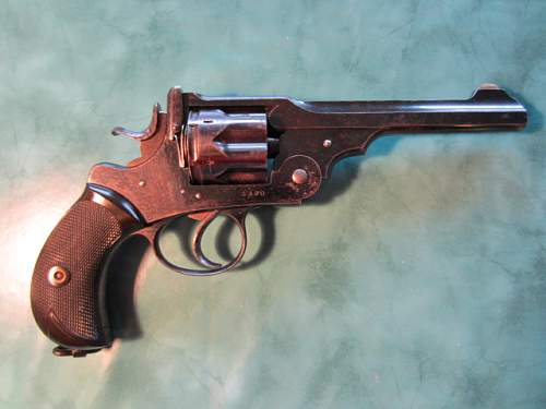 Bought an old Webley MkI