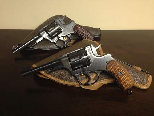 A Couple of Nagant M1895 Revolvers