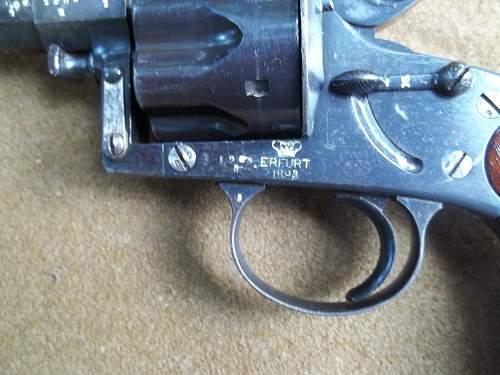Reichs commission revolver  1883