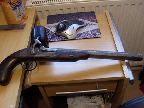 Two nice old pistols