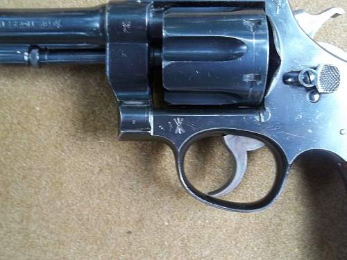 S&W .455 British Revolver