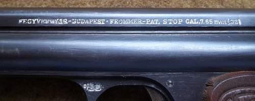 Frommer stop model 1912