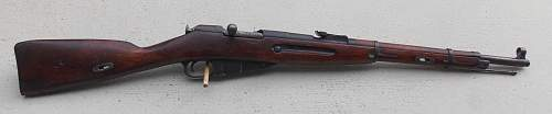 1941 Mosin M38 Carbine Finnish capture...