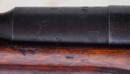 1941 Mosin M38 Carbine Finnish capture...