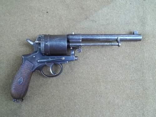 GASSER 1870/74  11.2X29mm AUSTRIAN REVOLVER