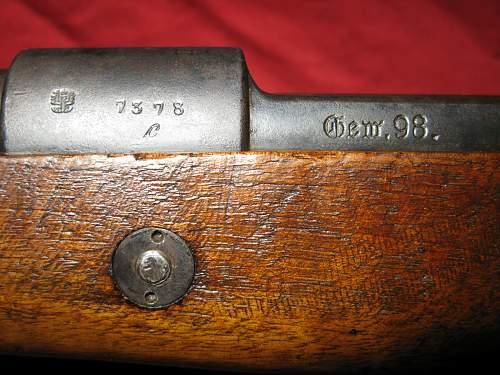 Gew 98 - Danzig 1915 - S/42K