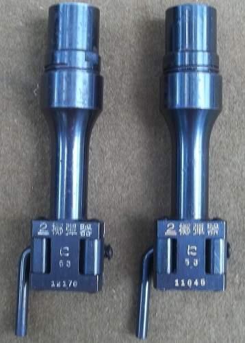 Japanese Type 2 Rifle Grenade Launchers