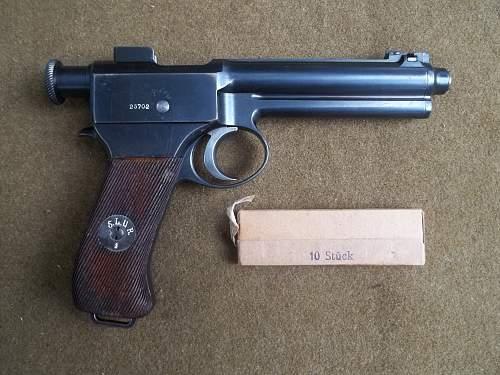 Roth-Steyr Pistol 8mm