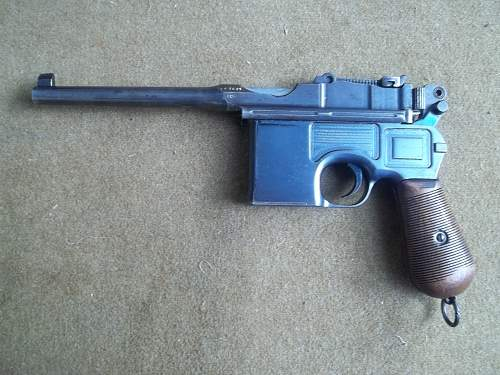 Mauser 1896/12 imperial german proofed