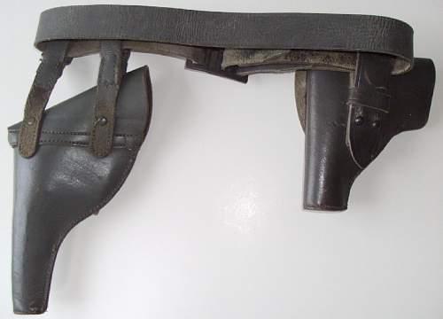 Italian 1889 'bodeo' revolver