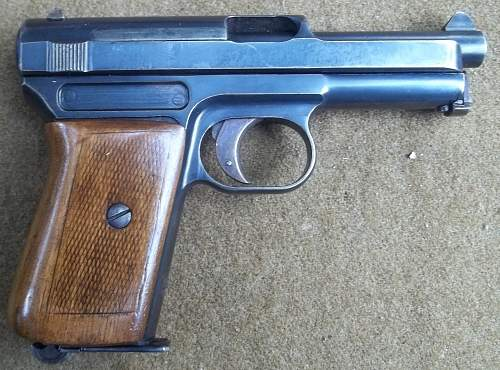 Mauser 1914 Imperial German Proofed