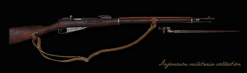 'Well Traveled' Mosin Nagant Rifle