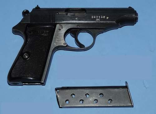 """End of war Walther PP """"AC"""""""