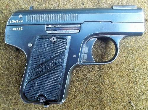 BAYARD M-1908 German Imperial Military Proofed