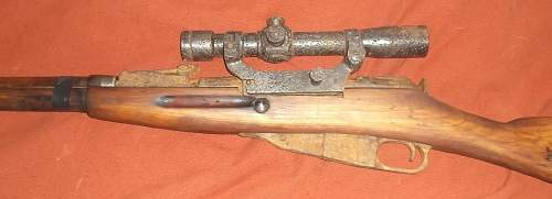 mosin with rare optica