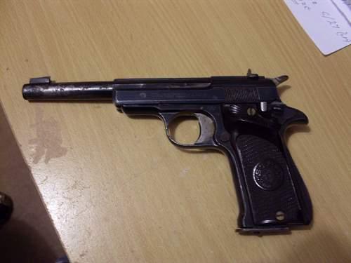 Star .22 pistol