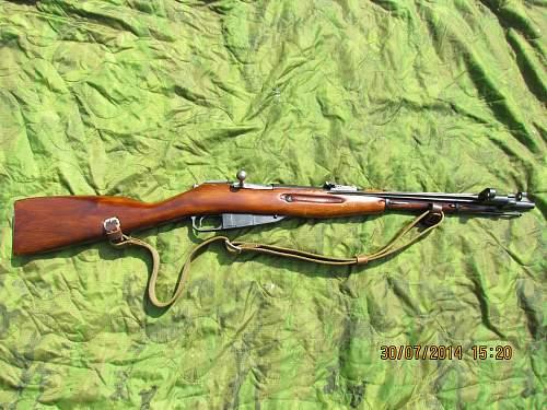 Click image for larger version.  Name:Mosin Nagant Carbine.jpg Views:141 Size:341.3 KB ID:721765