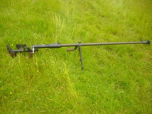 PTRD 14.5mm Anti tank rifle