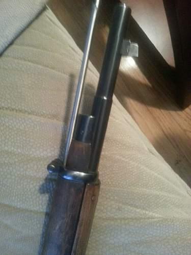 Finnish Civil Guard M24 Lotta's rifle (?)