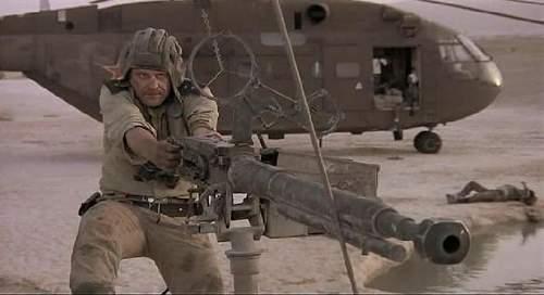 The Aliens smart gun - German MG ?