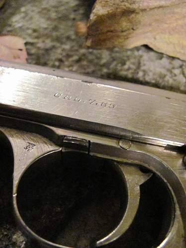 Veteran's Day Salute to Opa - The Pistol that started my collecting craze...