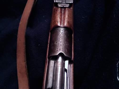 WW1 Turk Mauser/1903/1934