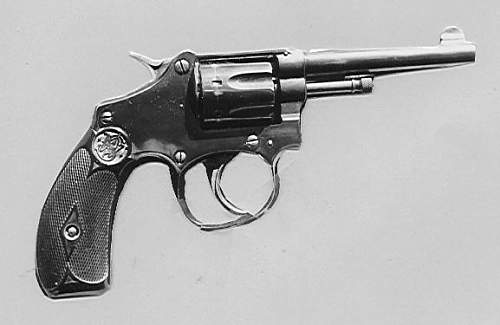 Adolf Hiter's Smith & Wesson, serial 709.