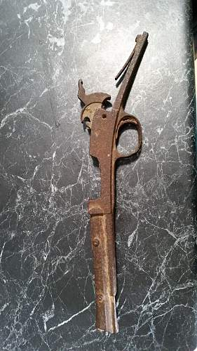 Found a rusty old firearm can anyone tell me what this is?