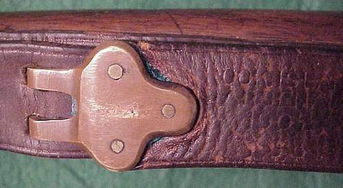 Can someone tell me about this unusual 1903 rifle sling!