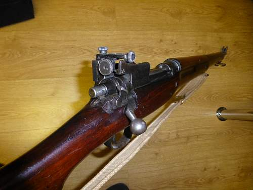 Enfield P14 rifle for christmas