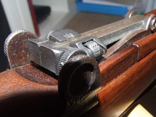 Enfield SMLE 3 1913 with magazine cut offfor Christmas