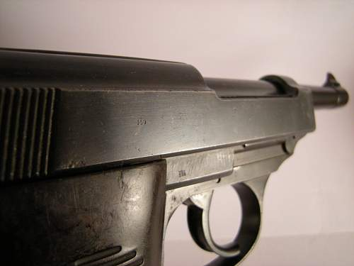 Click image for larger version.  Name:Walther P38 ac42 matching numbers 1261 b (4).jpg Views:51 Size:324.3 KB ID:786472