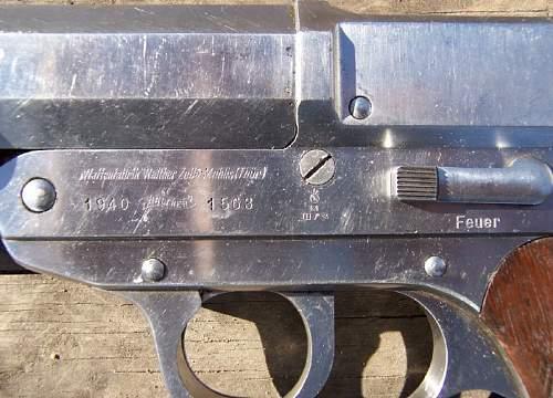 Walther KM Signal Pistol