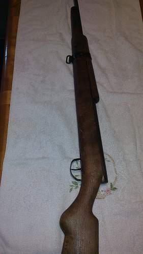 WW2 German drill rifle?
