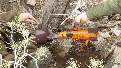 Archaeologists Find 1882 Rifle Leaning Against Nevada Desert Tree