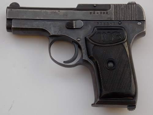 Soviet Korovin pistol...